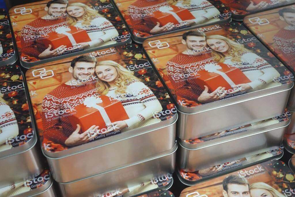 Blechdosen mit Digitaldruck
